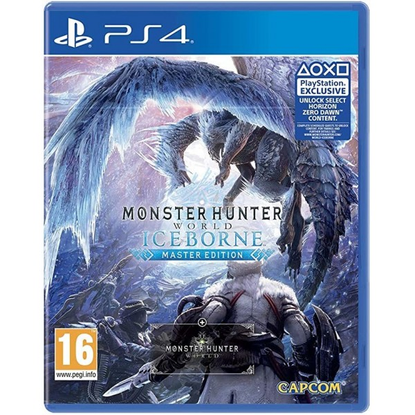 Juego Ps4 Monster Hunter World Iceborne Master Edition