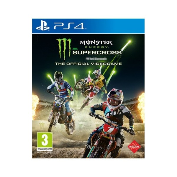 Juego Ps4 Monster Energy Supercross