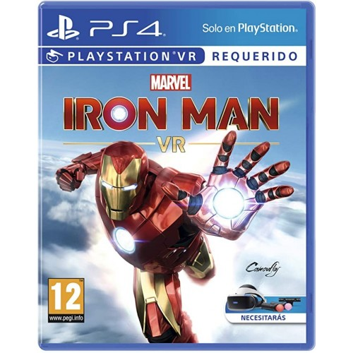 Juego Ps4 Marvel's Iron Man VR