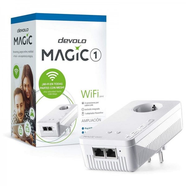 Power Line PLC Devolo Magic 1 Wifi 2-1-1 Enchufe