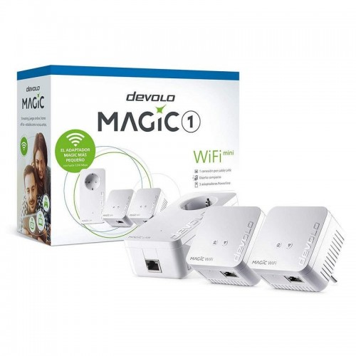 Kit Power Line PLC Devolo Magic 1 Wifi Mini 3 Pcs 1200Mbps