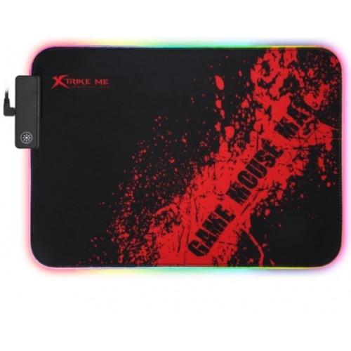 Alfombrilla Gaming Strike Me Blacklight MP-602 RGB 350x250mm