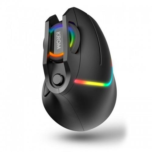 Ratón Gaming Vertical Krom KAOX RGB