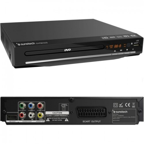 Reproductor DVD Sunstech DVD-225 HDMI