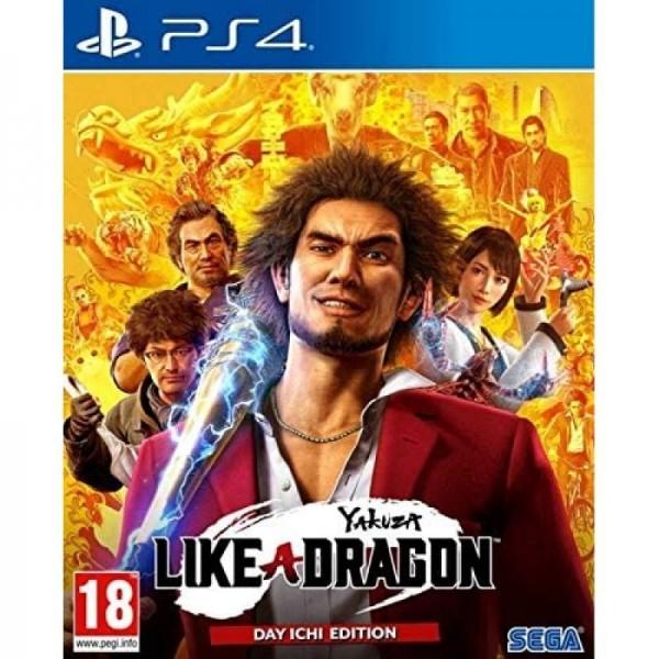 Juego PS4 Yakuza Like a Dragon: Day Ichi Edition