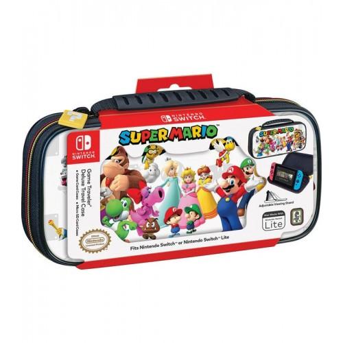 Funda Nintendo Switch Lite Super Mario White