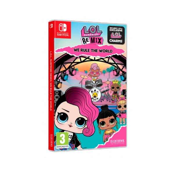 Juego Nintendo Switch L.O.L. Surprise! Remix Edition We Rule the World