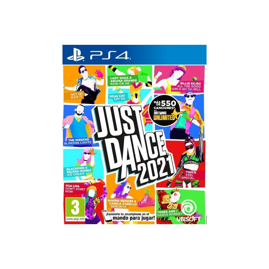 Juego PS4 Just Dance 2021