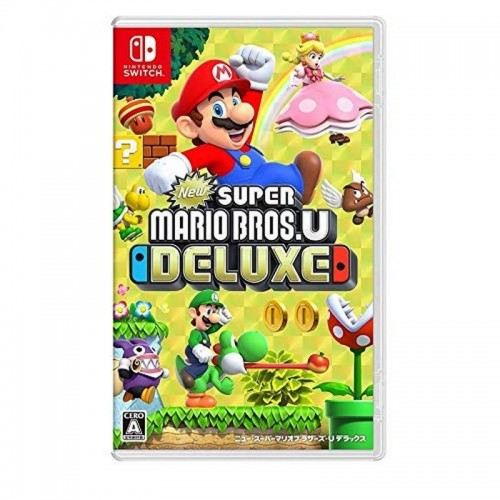 Juego Nintendo Switch New Super Mario Bros U Delux