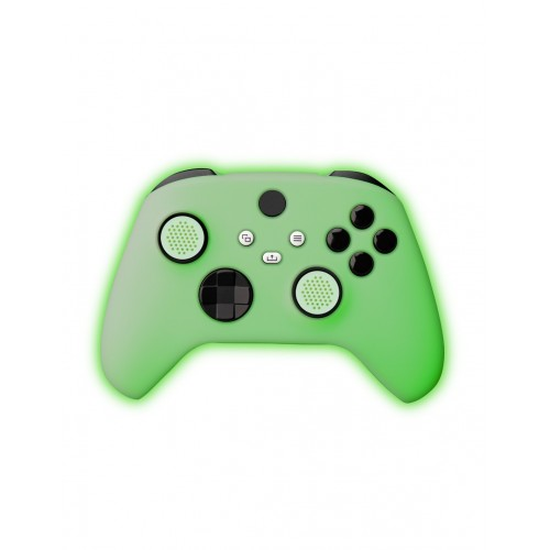 Funda Silicona Mando FR-TEC Xbox Series X + Grips Verde