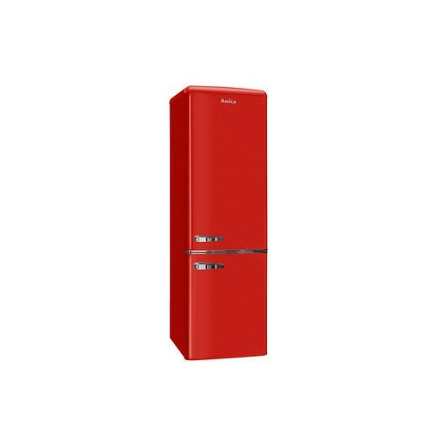 Frigorífico Combi Amica KGCR387100R 181x55cm Clase A++ Rojo