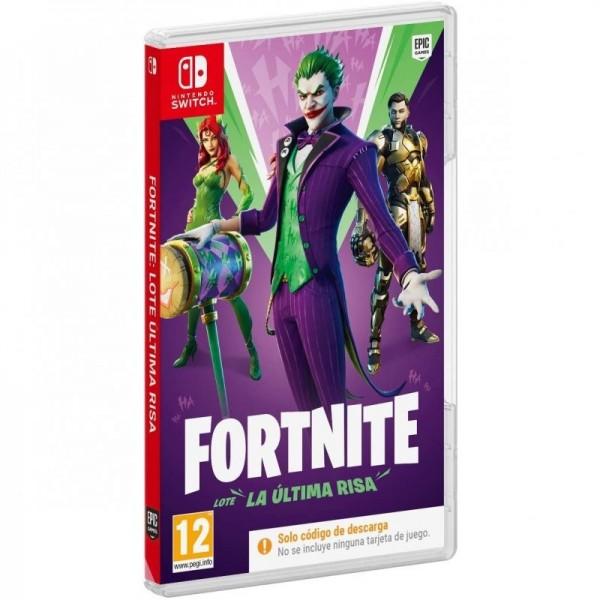 Juego Nintendo Switch Fortnite Lote La Última Risa