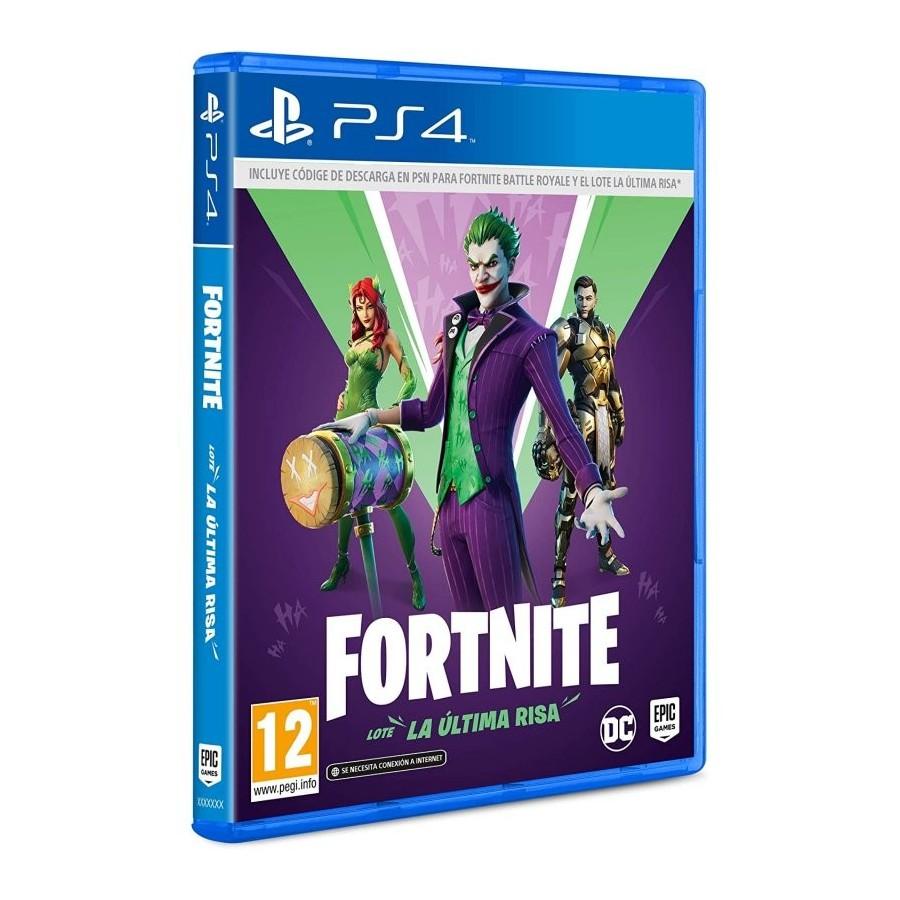 Juego PS4 Fortnite Lote La Última Risa