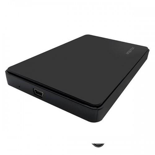 "Caja Externa Approx 2.5"" SATA USB 2.0 Negro"