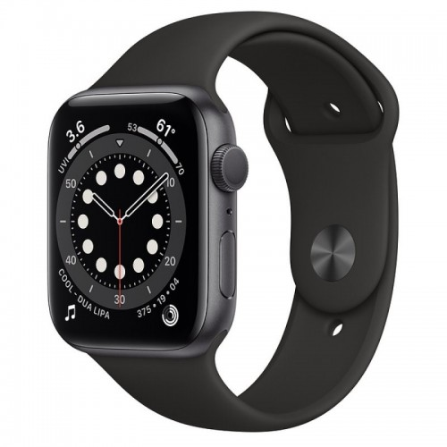 Apple Watch S6 44mm GPS Space Gray Sport Band