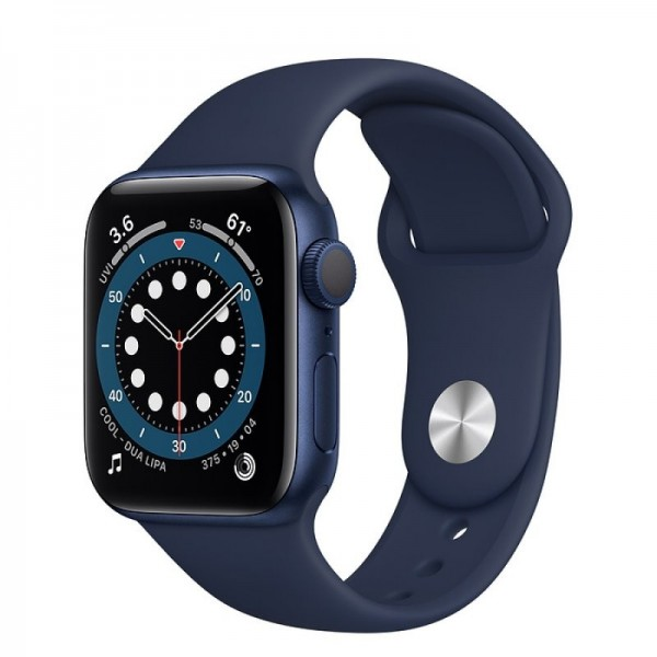 Apple Watch Series 6 GPS 40mm Aluminio Azul con Correa Sport Azul Marino Intenso