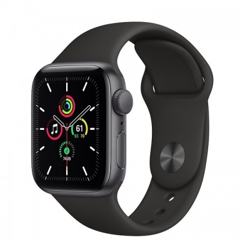 Apple Watch SE GPS 40mm Aluminio Gris Espacial con Correa Sport Negra