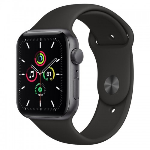 Apple Watch SE GPS 44mm Aluminio Gris Espacial con Correa Sport Negra