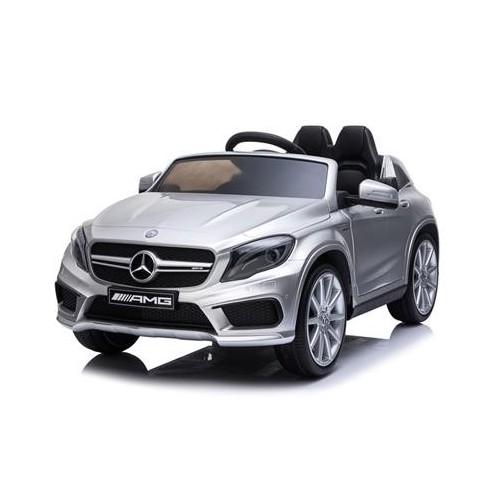 Coche Batería Mercedes AMG GLA45 Plata