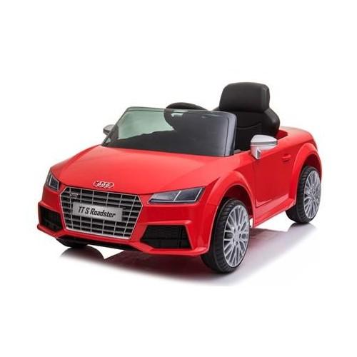 Coche Batería Audi TT Rojo
