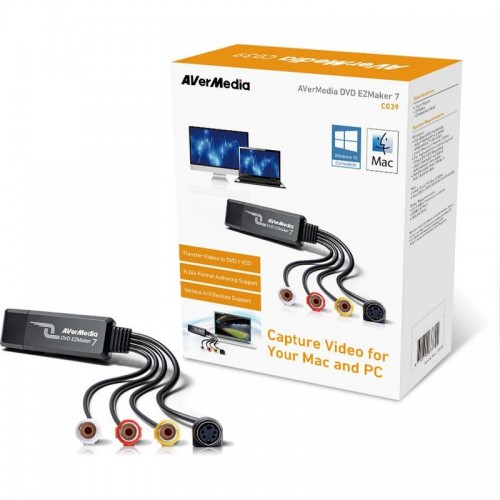 Capturadora Video Avermedia EZMaker 7 USB