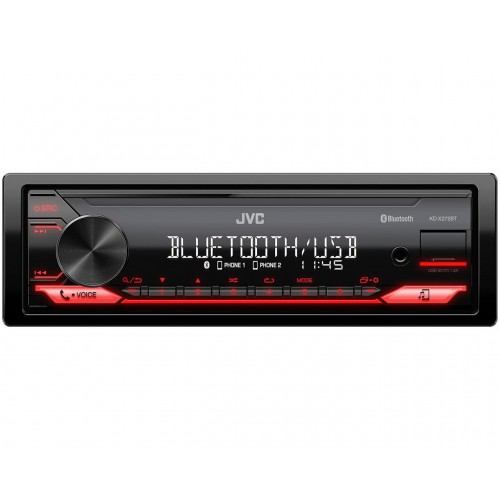 JVC KD-X272BT receptor multimedia para coche Negro 400 W Bluetooth