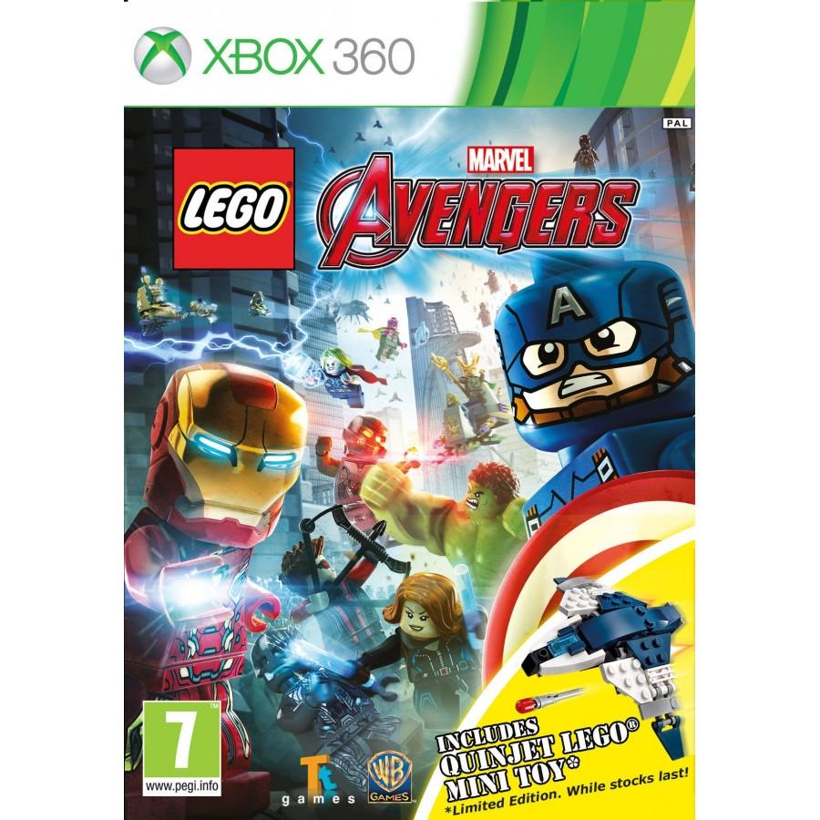 Juego Lego Marvel Vengadores Xbox 360