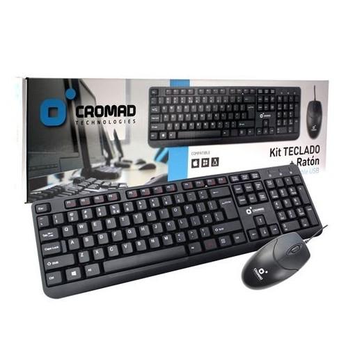 Teclado + Ratón Cromad CR0677 Cable USB