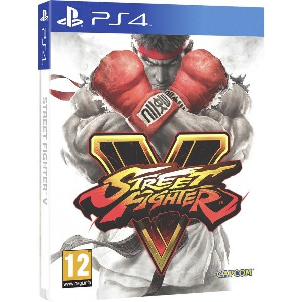 Juego Edición Especial Street Fighter V / PS4