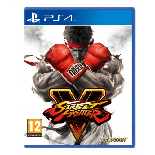 Juego Steet Fighter V / PS4