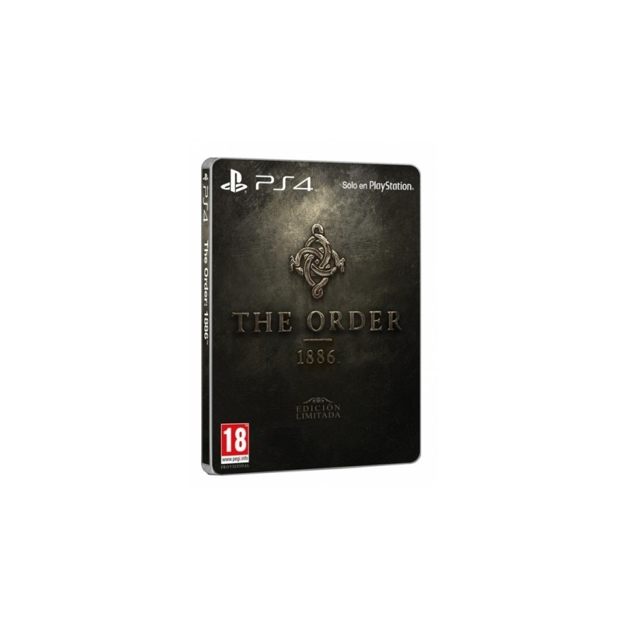 JUEGO PS4 THE ORDER 1886 ESPECIAL EDITION