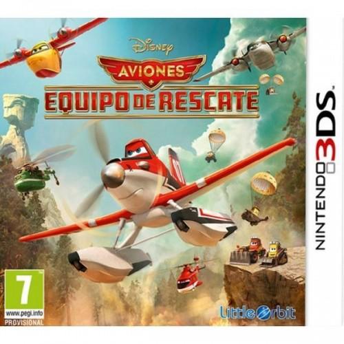 Juego Aviones Equipo De Rescate / Nintendo 3Ds