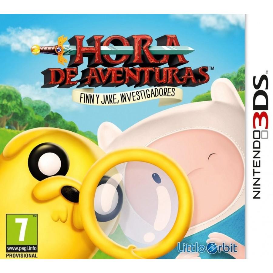 JUEGO 3DS HORAS DE AVENTURAS FINN Y JAKE