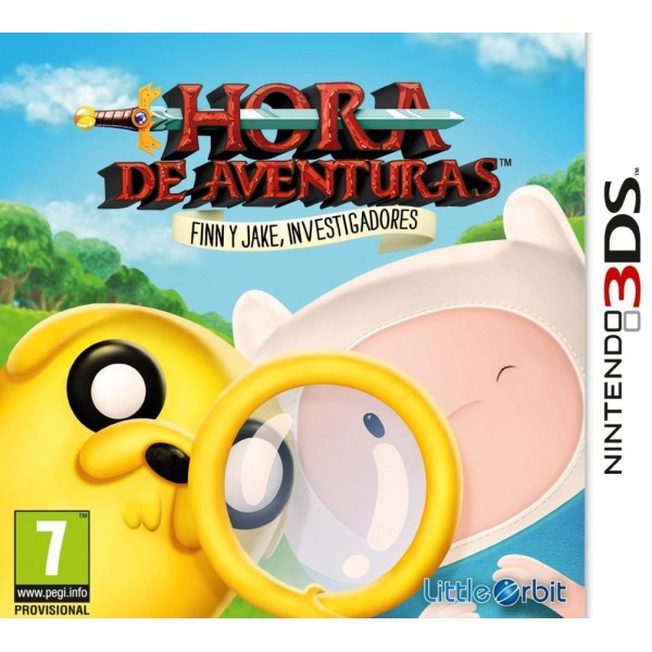 Juego Hora De Aventuras Finn Y Jake / Nintendo 3Ds