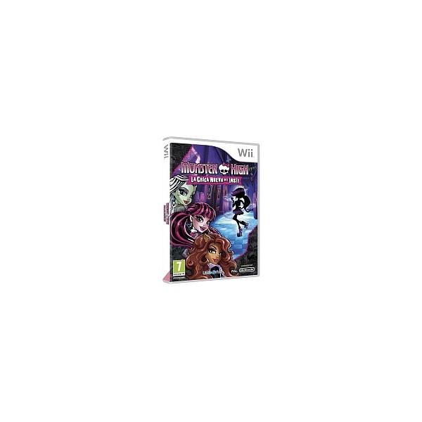 Juego Monster High La Chica Nueva Del Insti / Nintendo Wii
