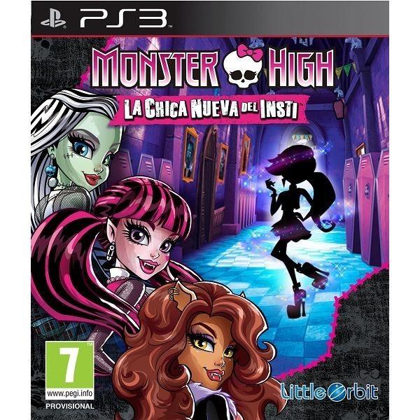 Juego Monster High La Chica Nueva Del Insti / PS3