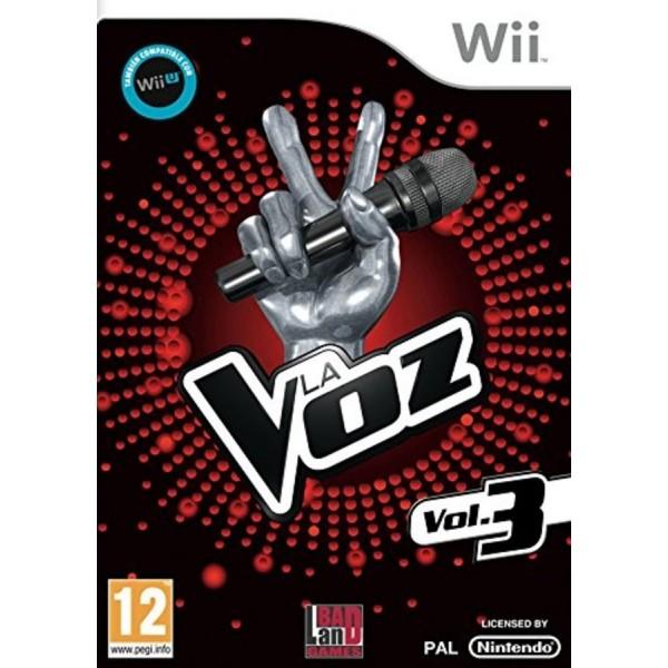 Juego La Voz Vol 3 / Nintendo Wii