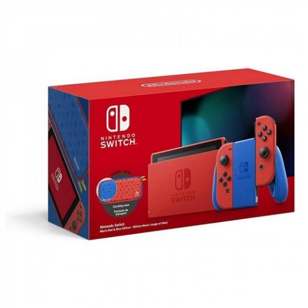 Consola Nintendo Switch Edición Mario Rojo/Azul
