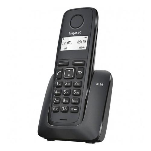 Teléfono Inalámbrico Gigaset A116 Negro