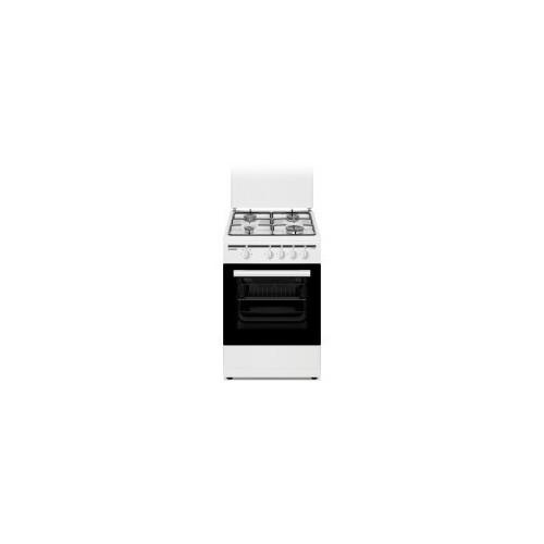 Cocina de Gas Sunfeel CGS4F50 4 Fuego 50x55cm Blanco