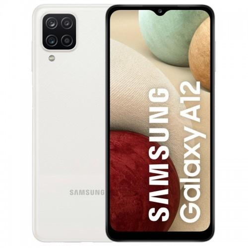 "MOVIL SAMSUNG GALAXY A12 6.5"" 4GB 128GB DS WHITE"