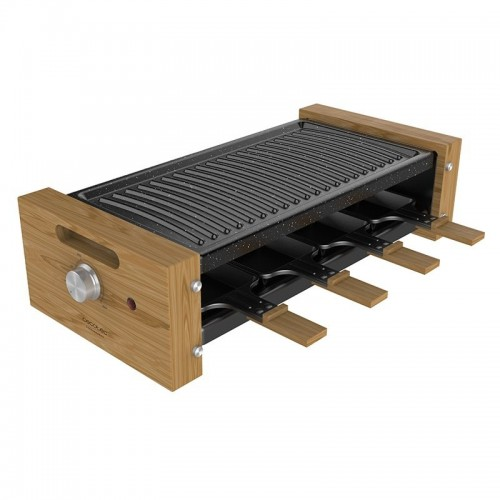 Raclette Cecotec Chesse&Grill 8200 Wood Black