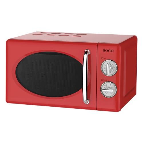 Microonda Sogo SS-890-R 20Lt 700w Vintage Rojo