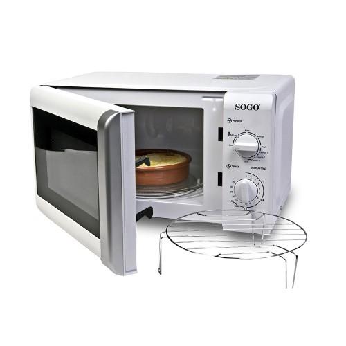 Microondas Sogo SS-845 20Lr 700w 1000w Grill Blanco