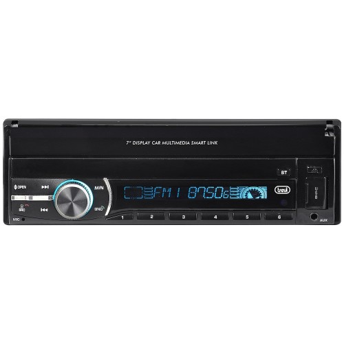 "RADIO DE COCHE TREVI MDV6380 7"" TACTIL/BT/USB/1DIN"