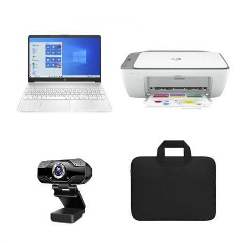 Pack Portátil HP + Maletín Negro + Impresora Multifunción +