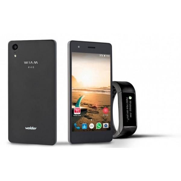 "Smartphone + Reloj Wolder Wiam 46 / 5"" / 4G / IPS / 8GB / 1GB RAM"