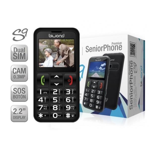 Móvil Biwond S9 / Seniorphone / Dual SIM / Camara / Flash