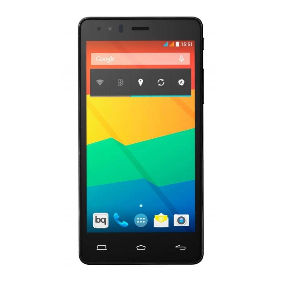 Móvil BQ Aquaris E5 16GB / 2GB RAM / Quad Core / 4G / Blanco