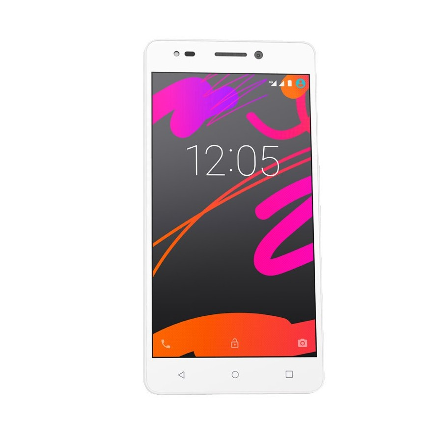 "Móvil BQ Aquaris M5.5 / 16GB / 3GB RAM / Blanco / 5,5"" Full HD"